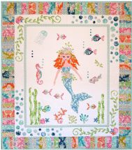 Mermaid Garden quilt